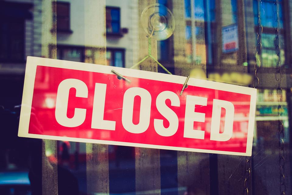 Coronavirus : boutique fermée