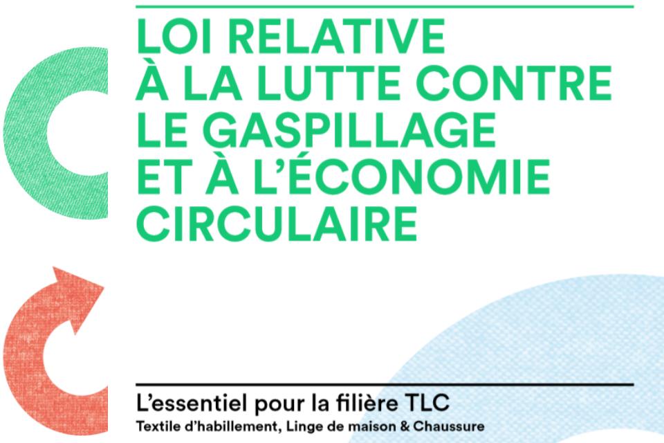 Impacts de la loi AGEC sur la filière TLC : l'essentiel à comprendre et retenir