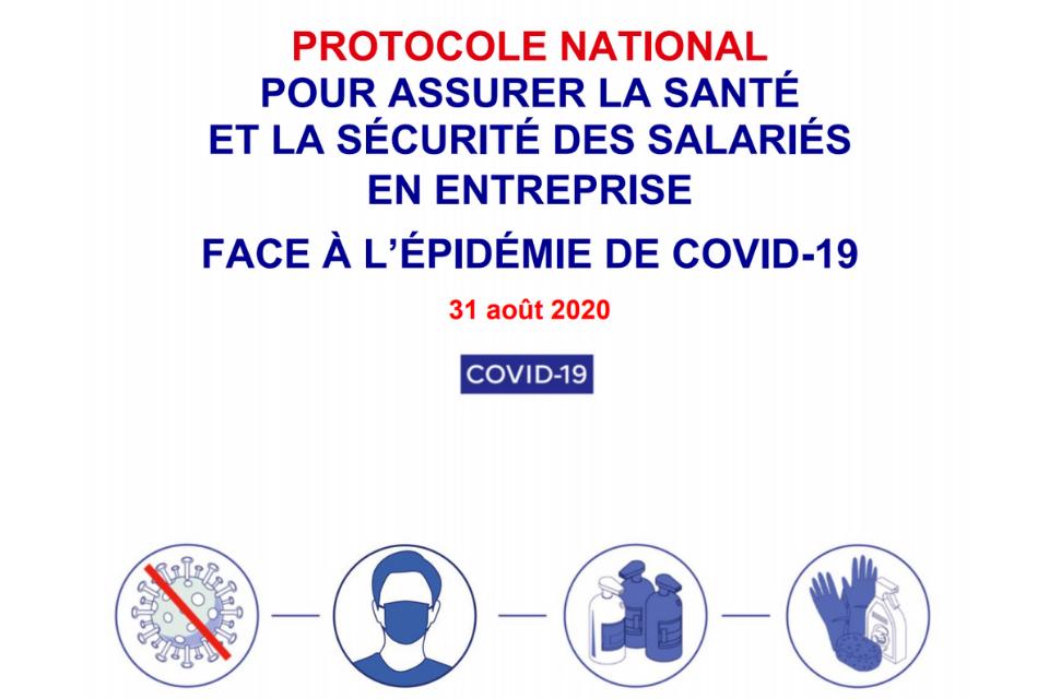 Nouveau protocole pour assurer la santé et la sécurité des salariés en entreprise : découvrez les changements