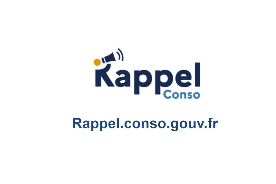 Rappel Conso - Site DGCCRF. Rappel des produits dangereux