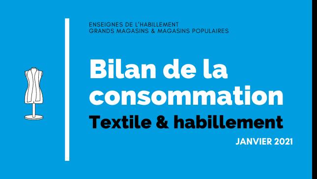 Évolution du marché de l'habillement en janvier. Demande de visibilité sur la réouverture