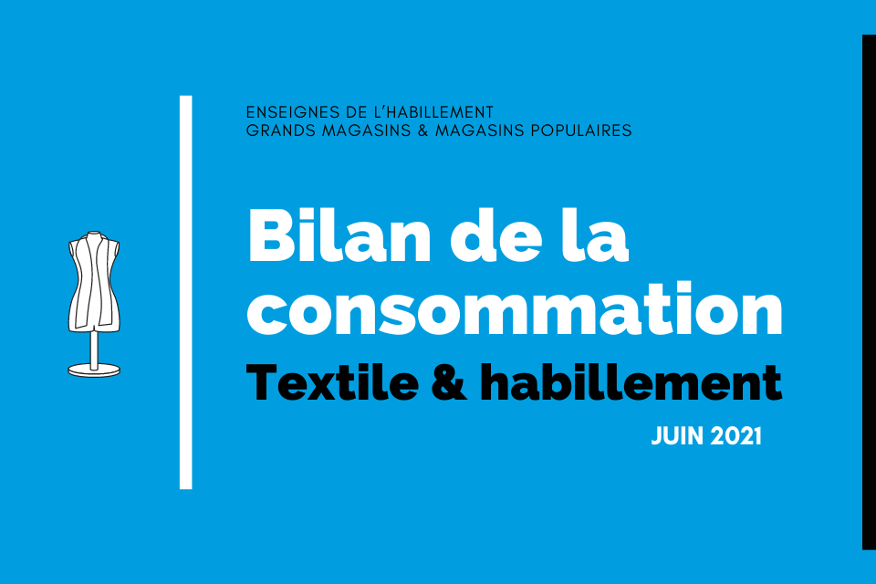 Bilan de la consommation : juin 2021